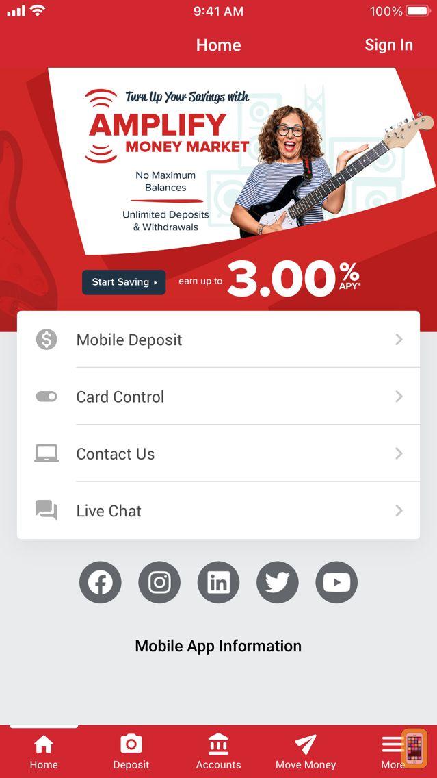 Screenshot - Honor CU Mobile