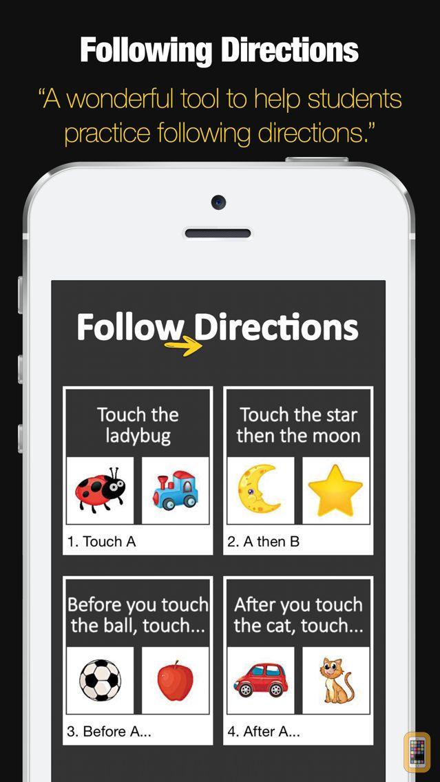 Screenshot - Following Directions Game