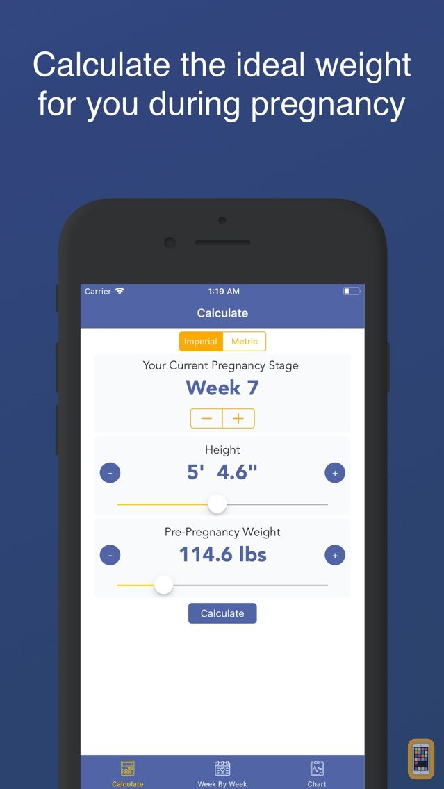 Pregnancy Bmi Weight Tracker For Iphone Ipad App Info Stats