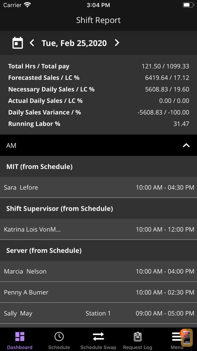 Screenshot - SMART Systems Pro-SMART Shift