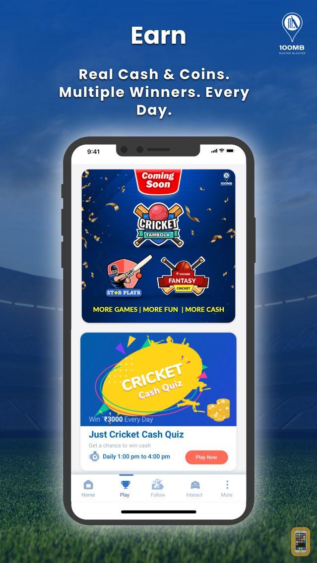 Screenshot - 100MB Cricket