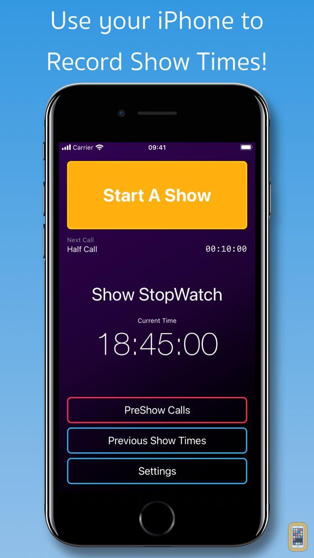 Screenshot - Show StopWatch