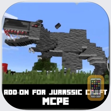 Jurassic Craft AddOn for Minecraft Pocket Edition by Nadeem Mughal (Universal)