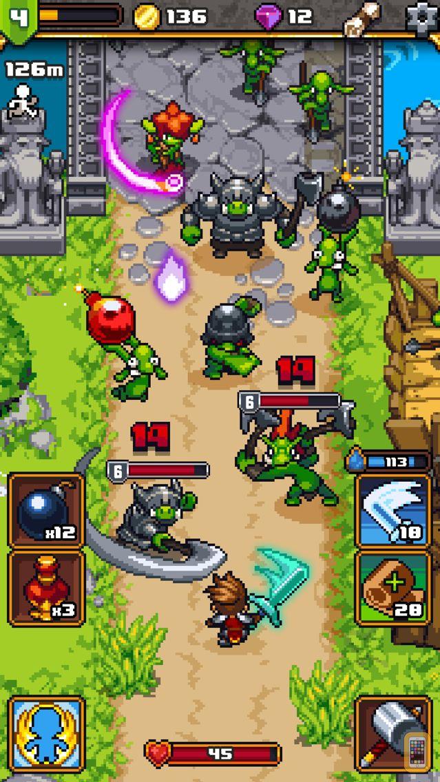 Screenshot - Dash Quest Heroes