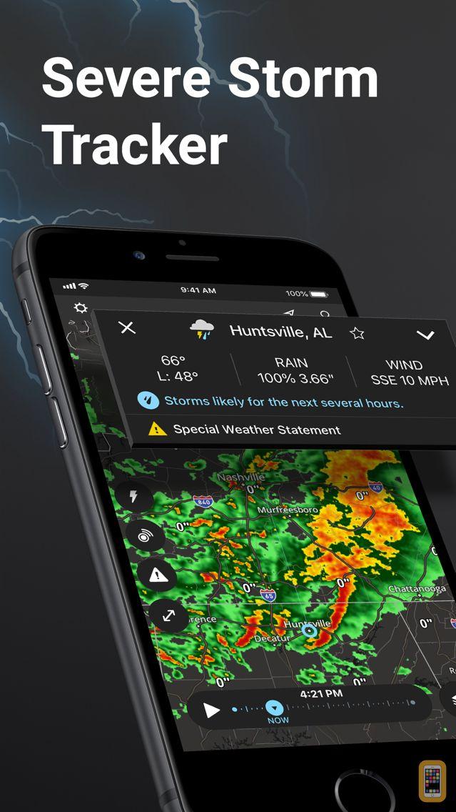Screenshot - Storm Radar: Weather Tracker