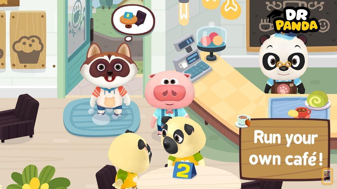 Screenshot - Dr. Panda Cafe Freemium