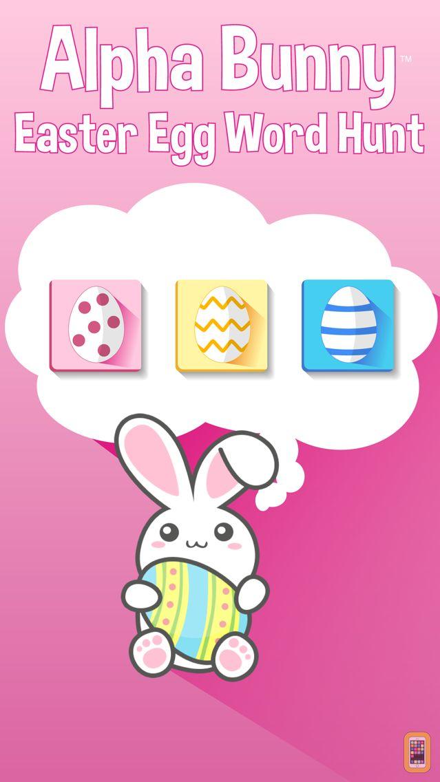Screenshot - Alpha Bunny - Easter Egg Word Hunt