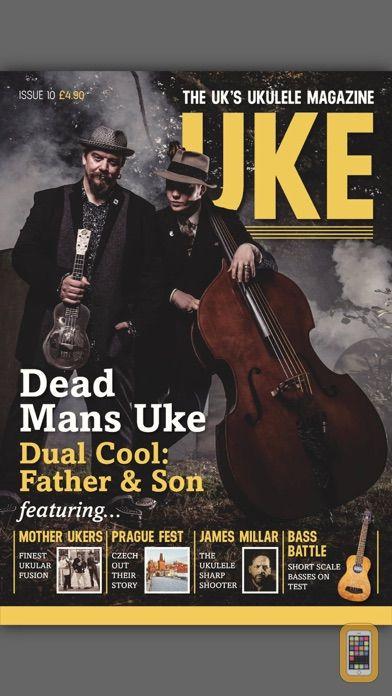 Screenshot - UKE Magazine - Ukulele Mag