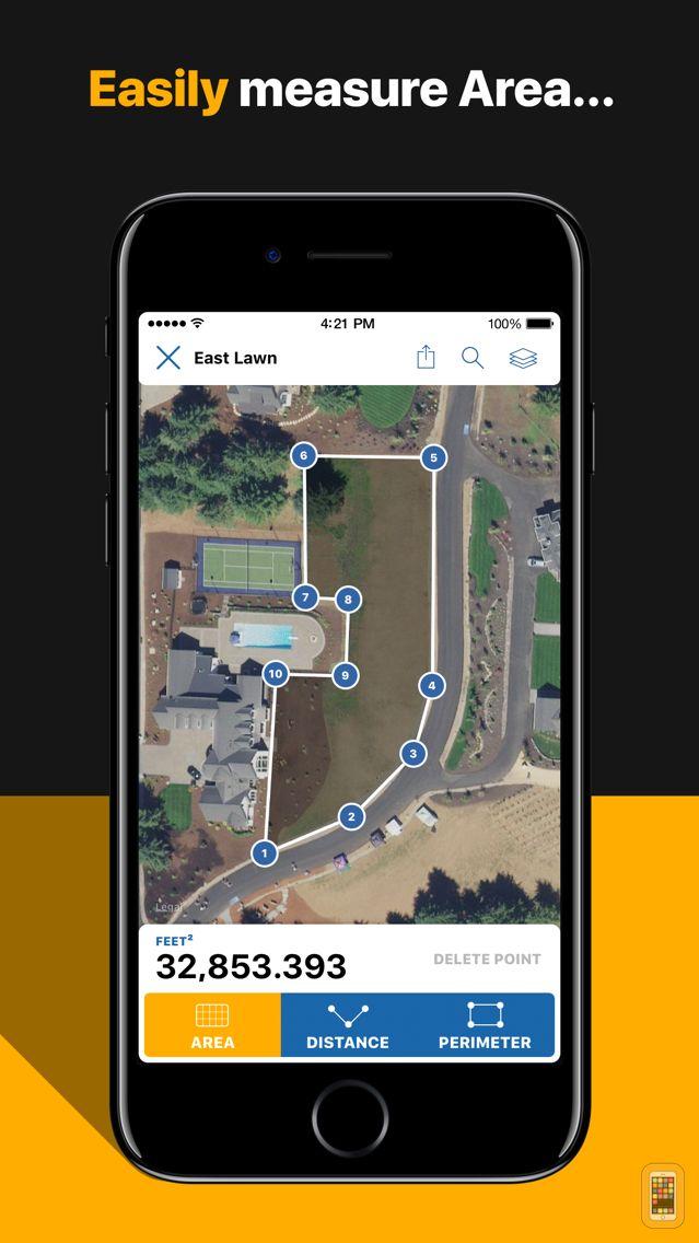 Screenshot - Surface: Geo Measure Area, Distance, Perimeter
