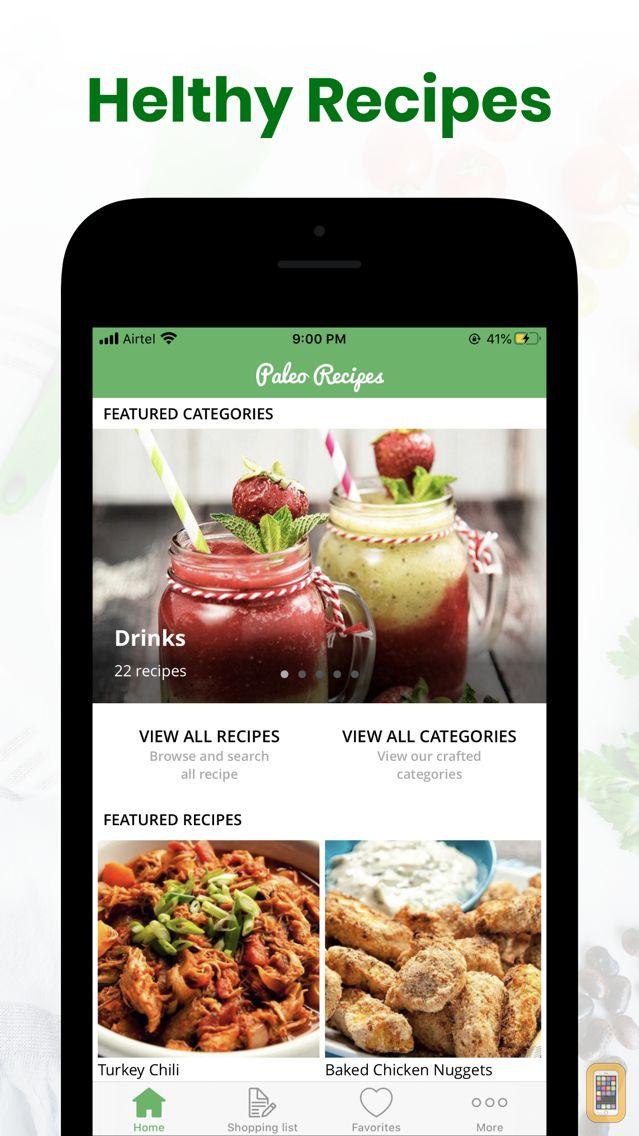 Screenshot - Paleo Diet Recipes & Meal Plan