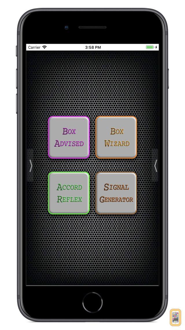 Screenshot - BassBox Reflex Pro
