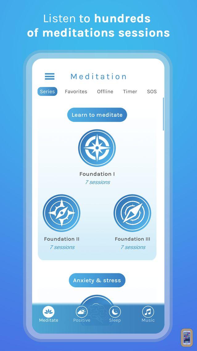 Screenshot - Pause - Guided Meditation App