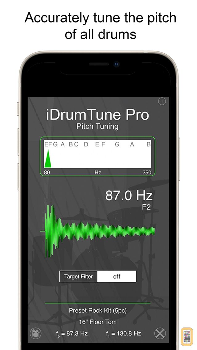 Screenshot - Drum Tuner - iDrumTune Pro