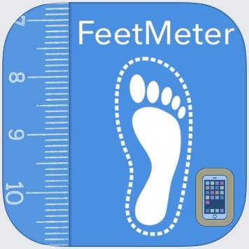 Feet Meter  measure shoe size by VisTech.Projects LLC (Universal)