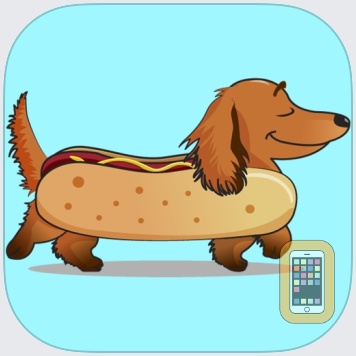 DachMoji: Dachshund Stickers by LumEnrich Inc (Universal)