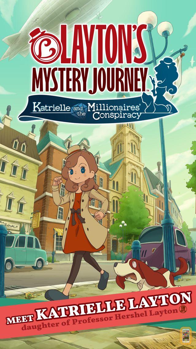 Screenshot - Layton's Mystery Journey