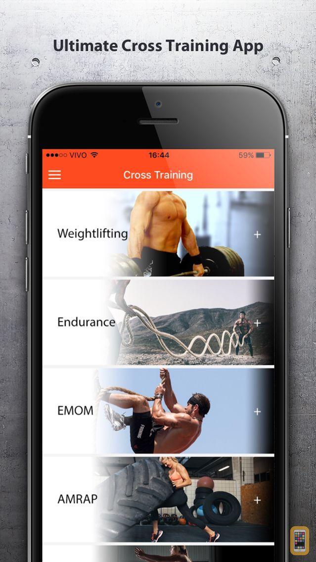 Screenshot - Cross Training - Fit Workouts