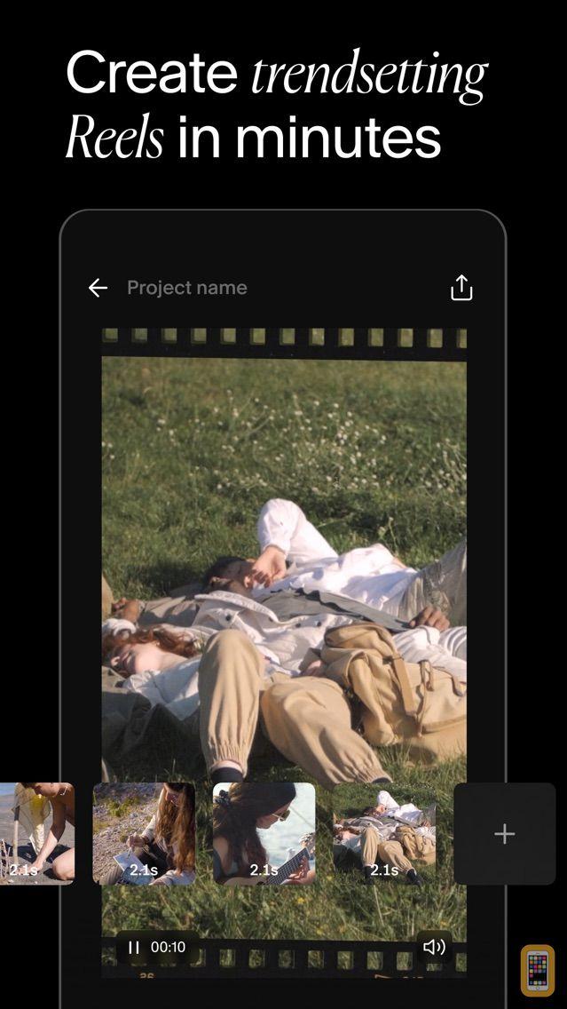 Screenshot - Unfold — Story Maker & Collage