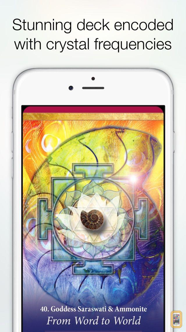 Screenshot - Crystal Mandala Oracle