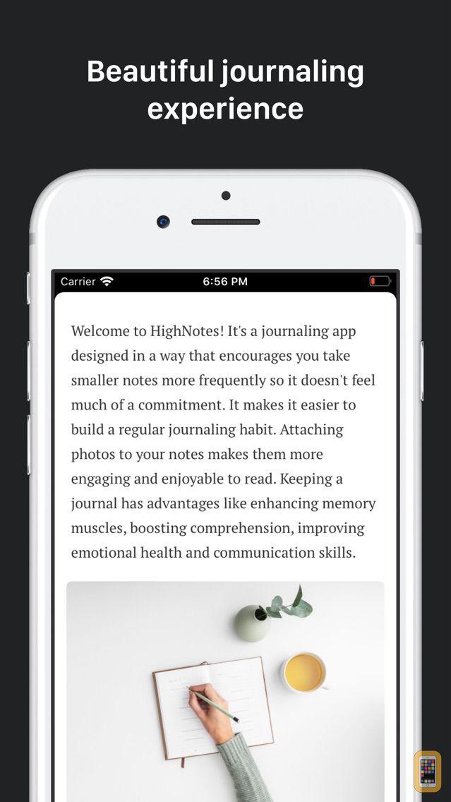 Screenshot - HighNotes