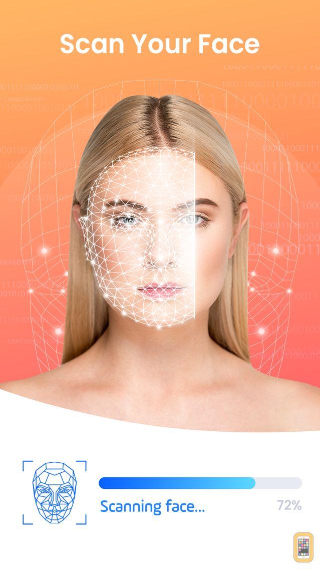 Screenshot - Face Analysis - Golden Ratio Face
