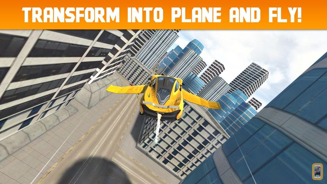 Screenshot - Car Flight Simulator Unlimited