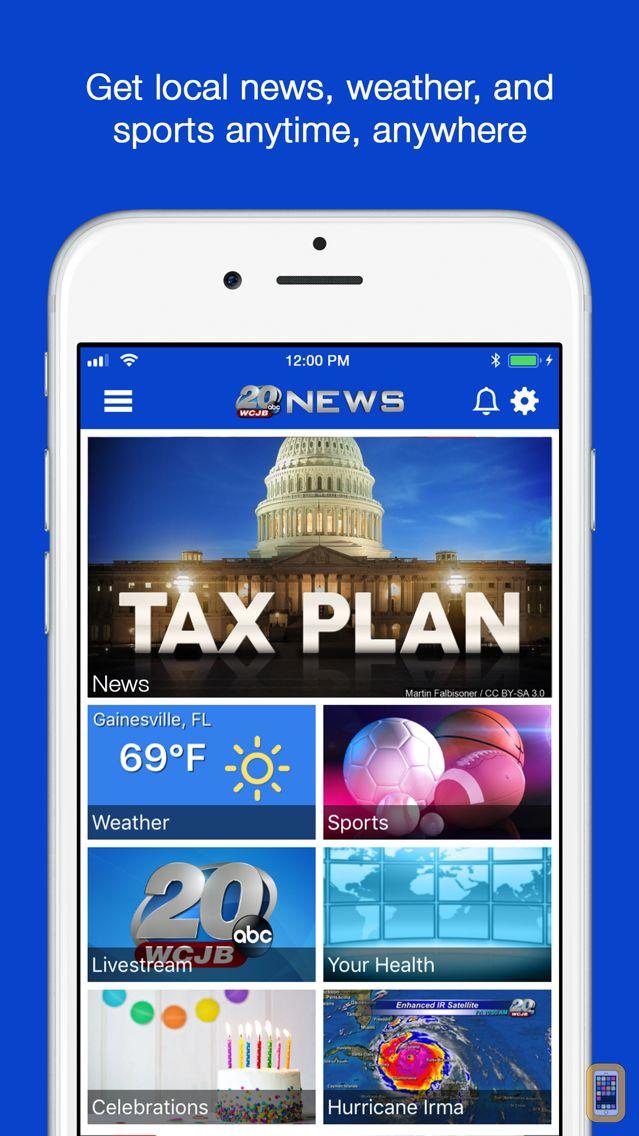 Screenshot - WCJB TV20 News