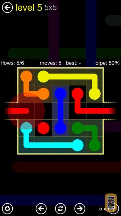 Screenshot - Flow Free: Warps