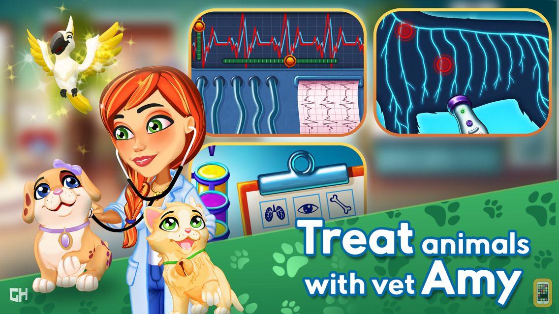 Screenshot - Dr. Cares - Amy's Pet Clinic