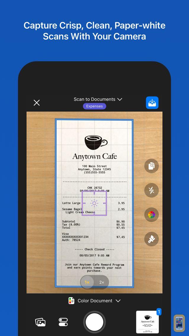 Screenshot - Paperlogix Document Scanner