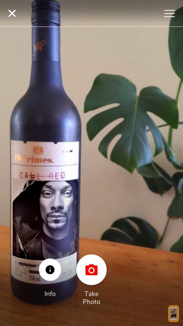 Screenshot - Living Wine Labels