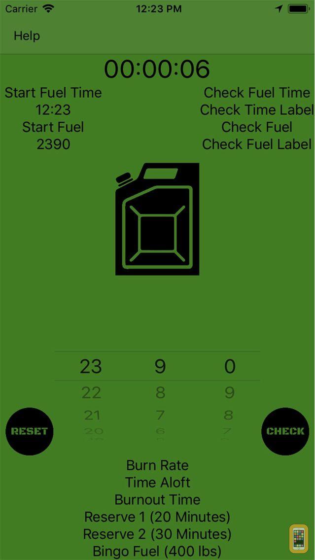 Screenshot - Mil Fuel Check
