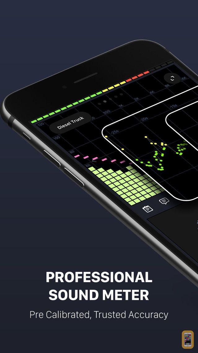 Screenshot - Decibel X PRO: dBA Noise Meter