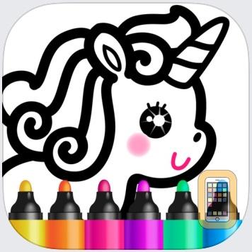 Games for Girls! Kids Drawing! by Bini Bambini Academy (Universal)