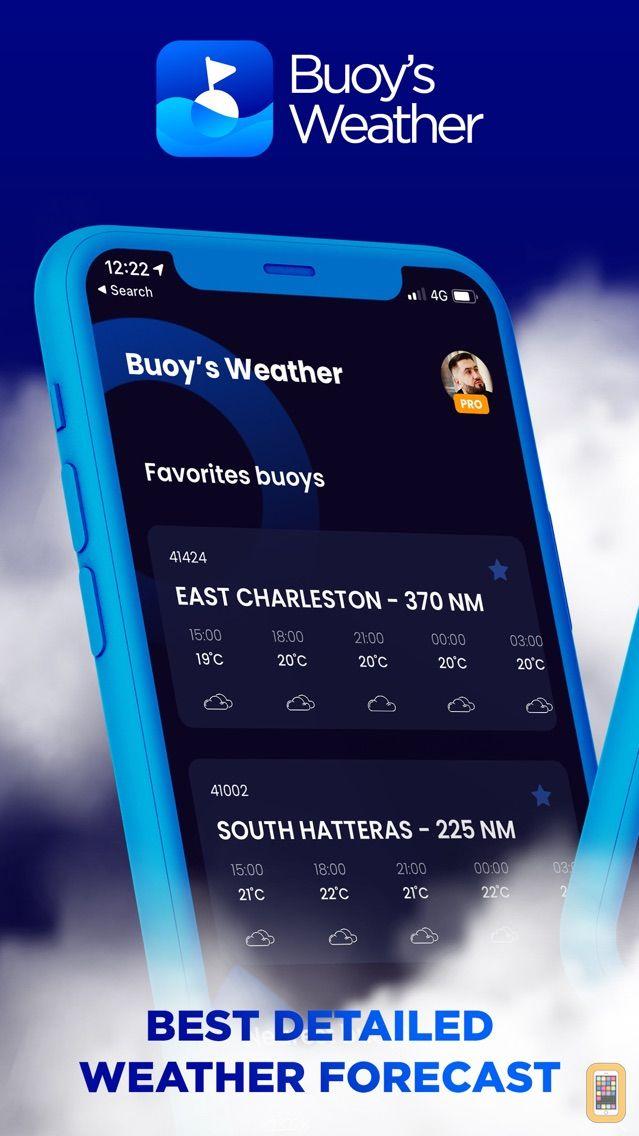 Screenshot - NOAA Marine Weather Premium
