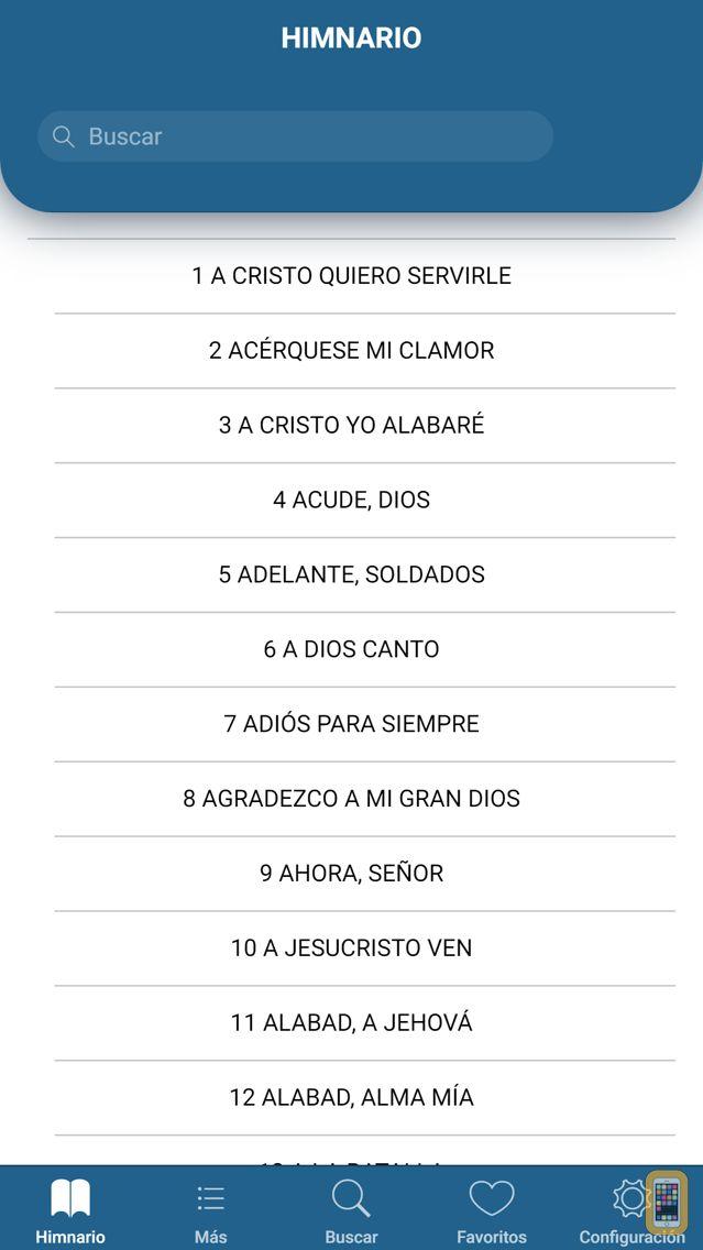 Screenshot - Himnario Lldm Inglés - Español