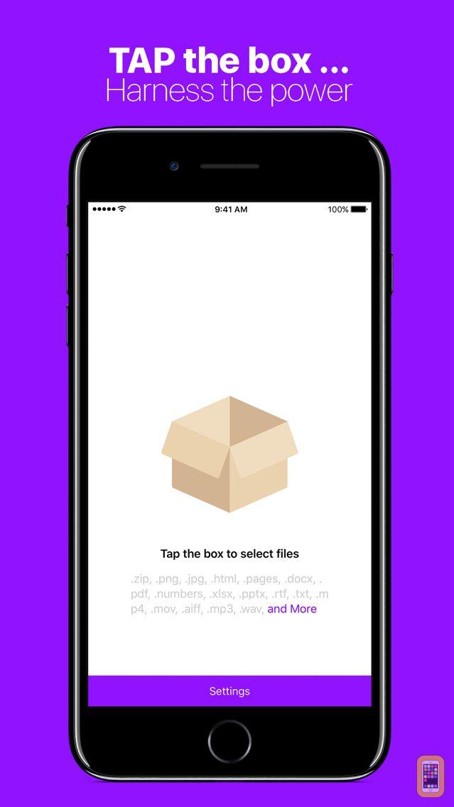 Screenshot - Compress Files with Zipped