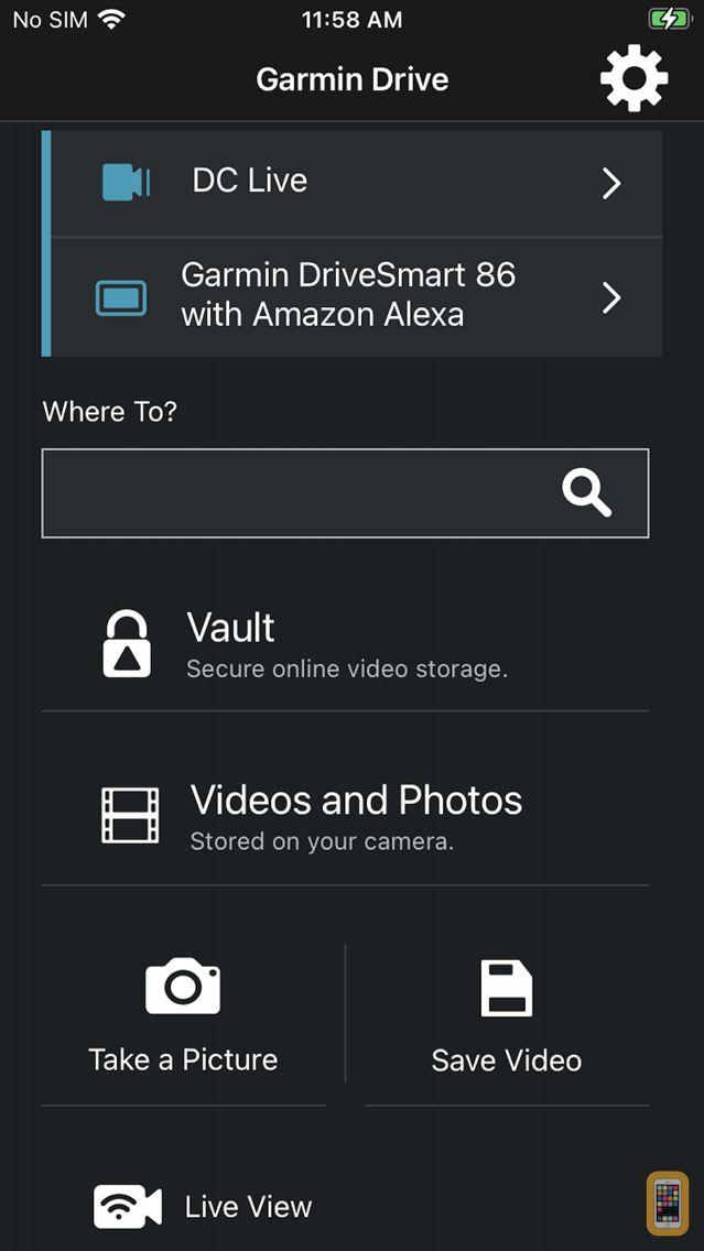 Screenshot - Garmin Drive™