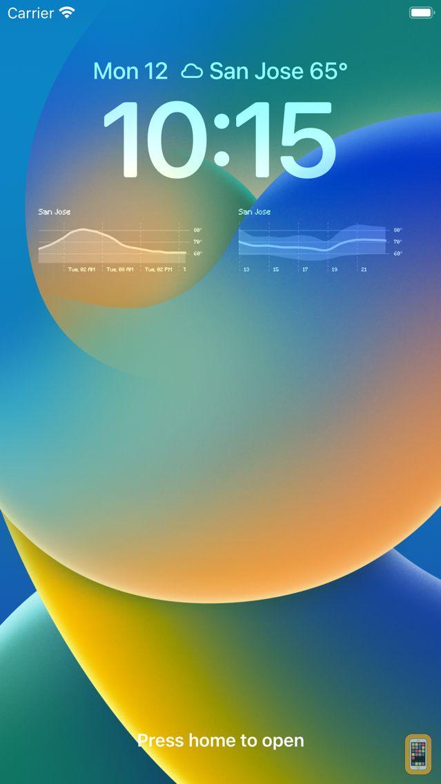 Screenshot - Pixel Weather - Forecast