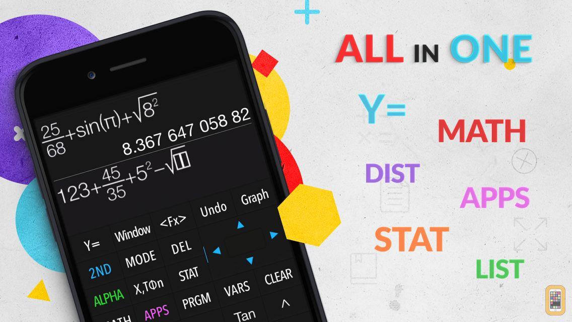 Screenshot - Graphing Calculator Plus