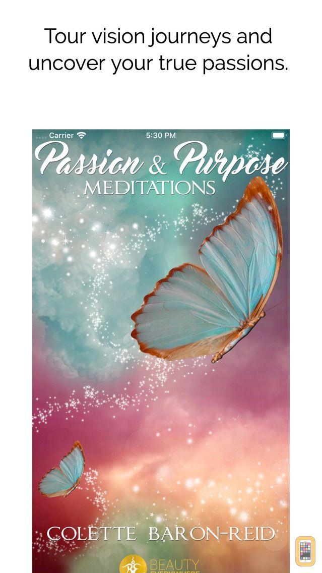Screenshot - Passion & Purpose Meditations