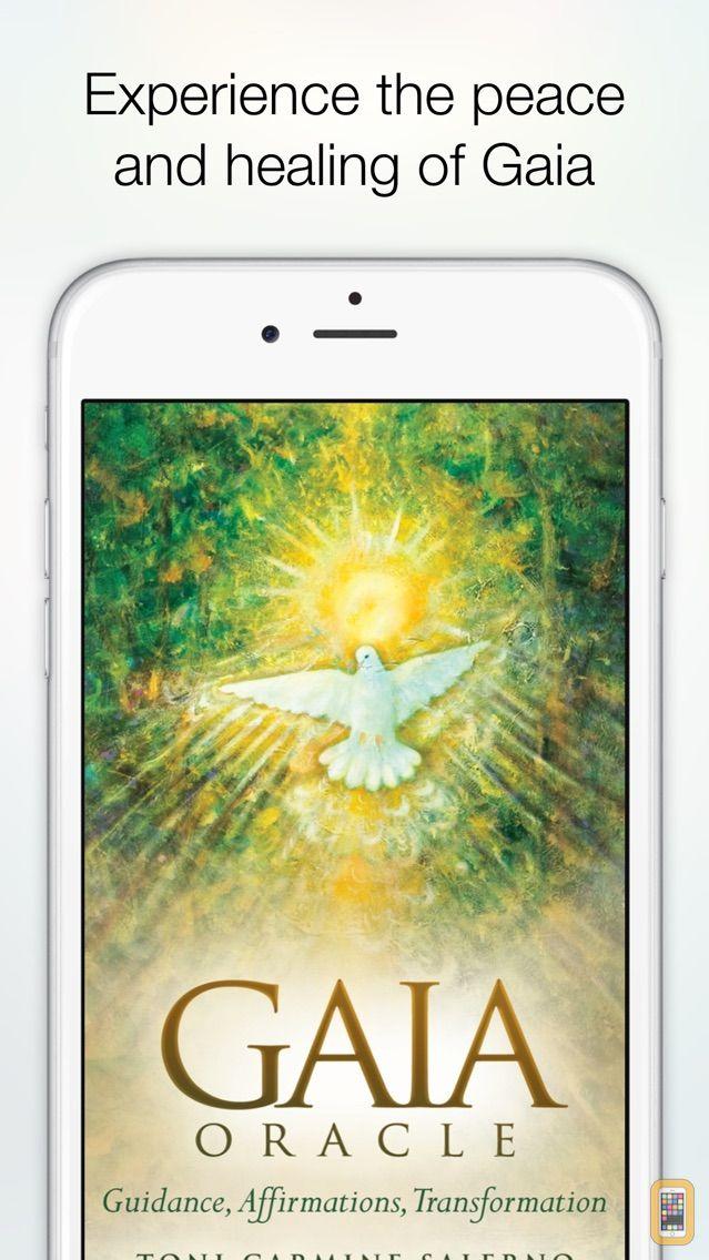 Screenshot - Gaia Oracle - Toni C. Salerno