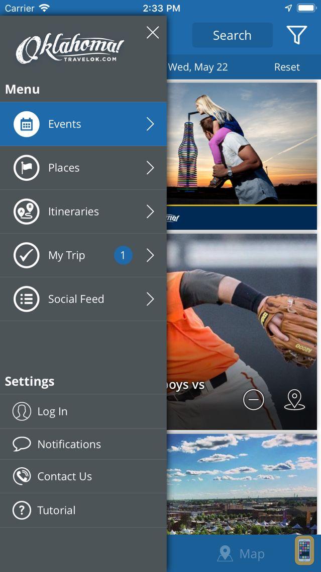 Screenshot - TravelOK
