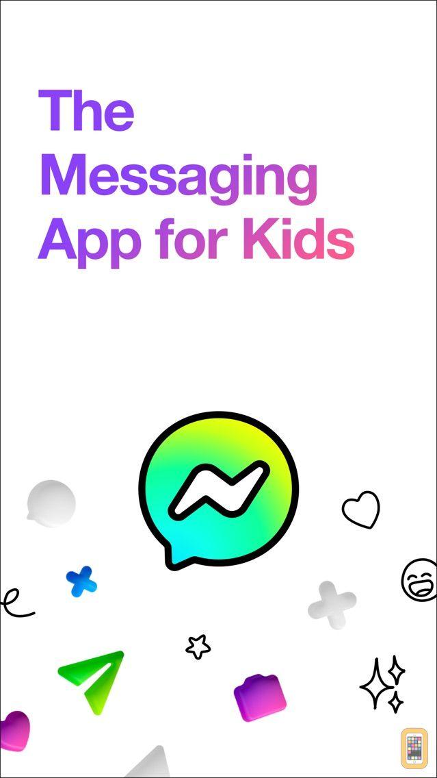 Screenshot - Messenger Kids