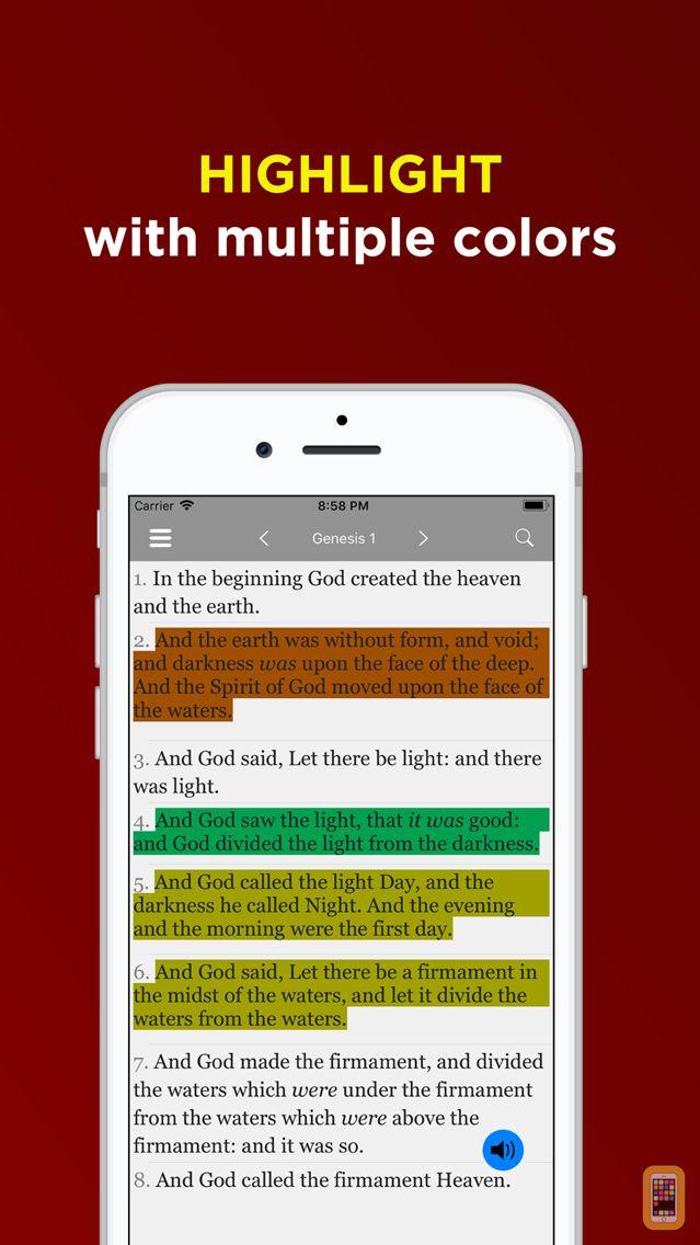 Screenshot - King James Bible -Offline Pro