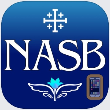Photo Illustrated Bible NASB by Michael Boukhman (iPhone)