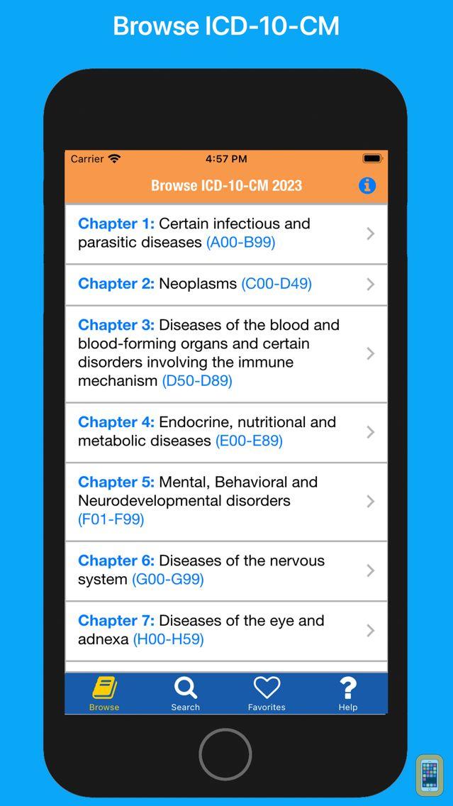 Screenshot - ICD-10-CM 2020 Diagnosis Codes