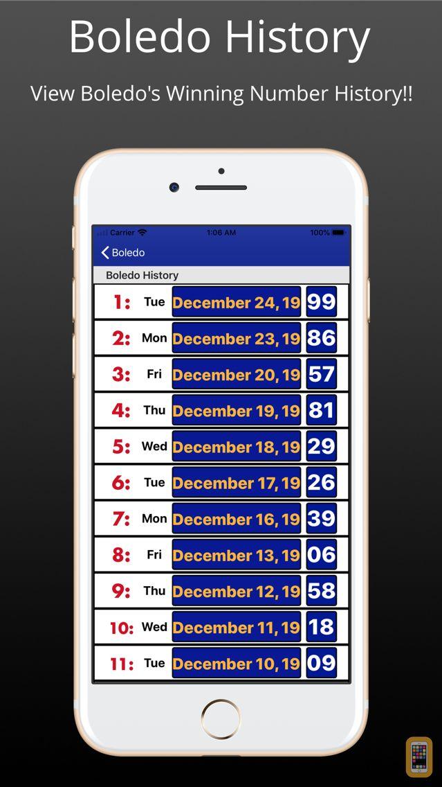 Screenshot - Belize Lottery:Belize Lotto,10