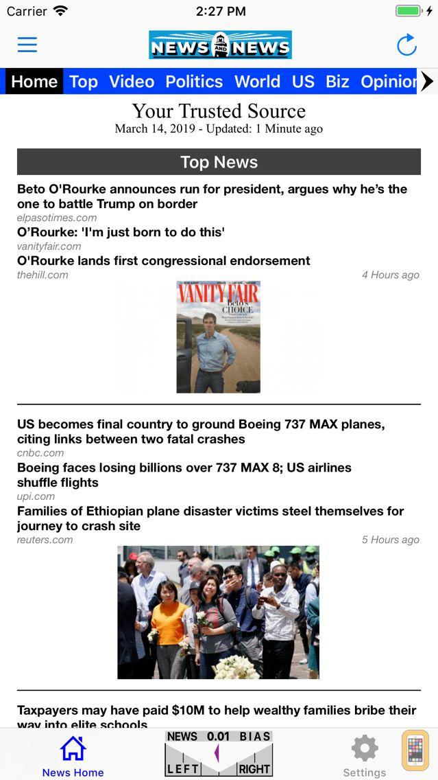 Screenshot - News and News
