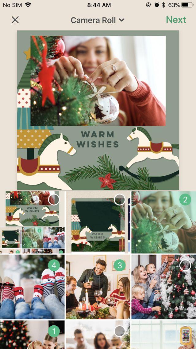 Screenshot - Pine 3D Greeting Cards